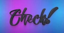 CHECK! 2018 logo