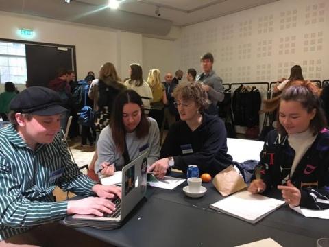 Deltagare på CHECK!2 2018 i Västerås 10-11 november