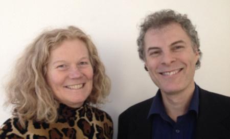 Eva Omagbemi och Peter Pontvik är koordinatorer för det nationella uppdraget Samspel