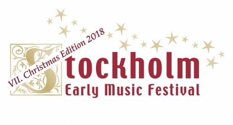 Logga. Stockholm Early Music Festival X-mas edition