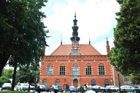 Konferenslokalen. Old Town Hall, Gdansk.