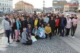 EFA Academy participants in Gothenburg August 2018
