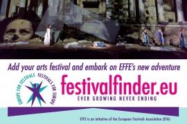 Logga festivalfinder.eu