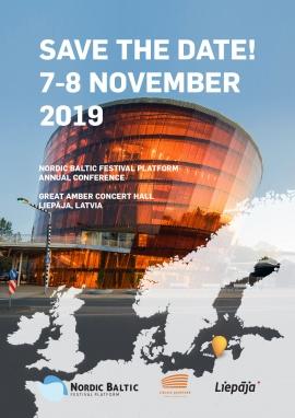 Notera datum för nästa Nordiska-Baltiska festivalkonferens